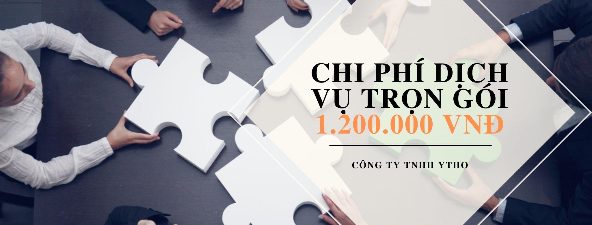 Chi phí Dịch vụ thành lập công ty tại quận Tân Bình