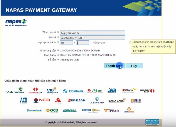 Hướng dẫn đăng ký thành lập chi nhánh qua mạng điện tử