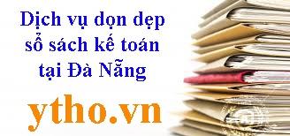 Dịch vụ dọn dẹp sổ sách kế toán tại Đà Nẵng
