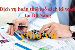 Dịch vụ hoàn thiện sổ sách kế toán tại Đà Nẵng