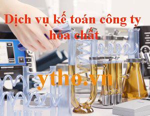 Dịch vụ kế toán công ty hóa chất
