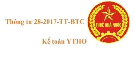Thông tư 28-2017-TT-BTC