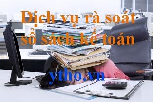 Dịch vụ rà soát sổ sách kế toán